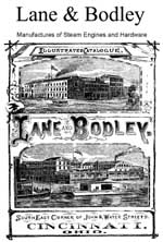 Early Cincinnati Steam Manufacturing: The Lane and Bodley Company, 1850-1920, by Sandra R. Seidman, Northern Kentucky University